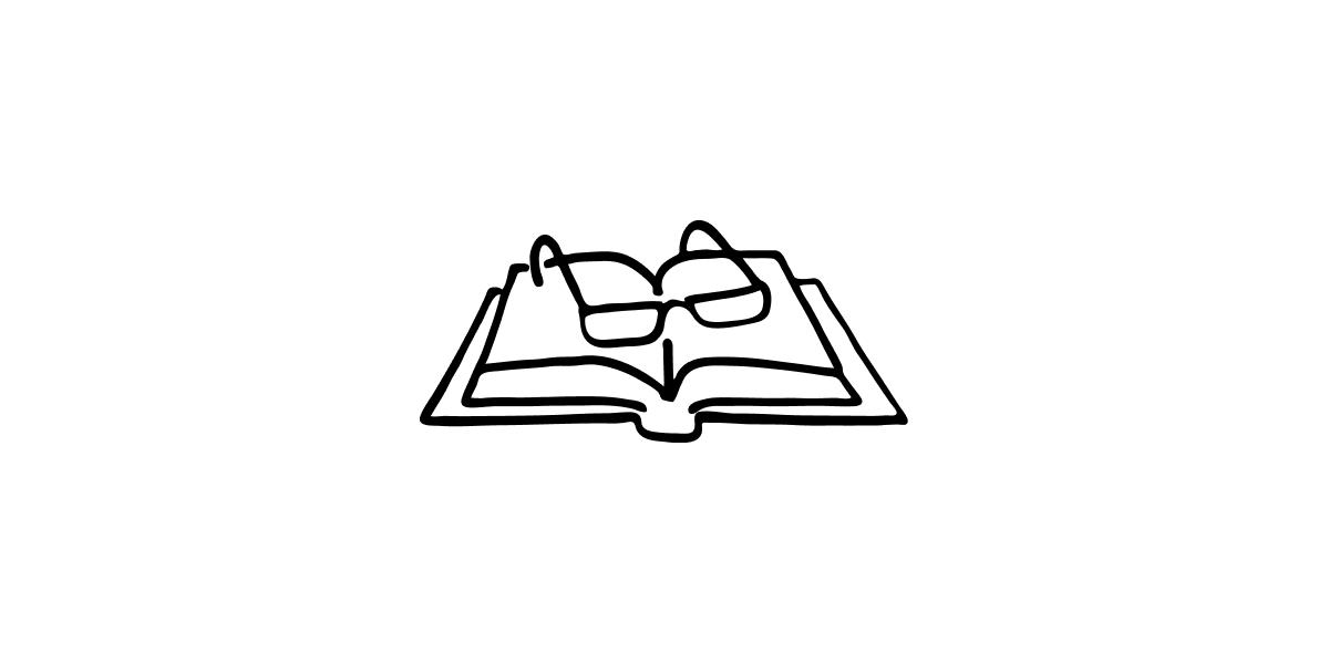 Buch auf Weiss