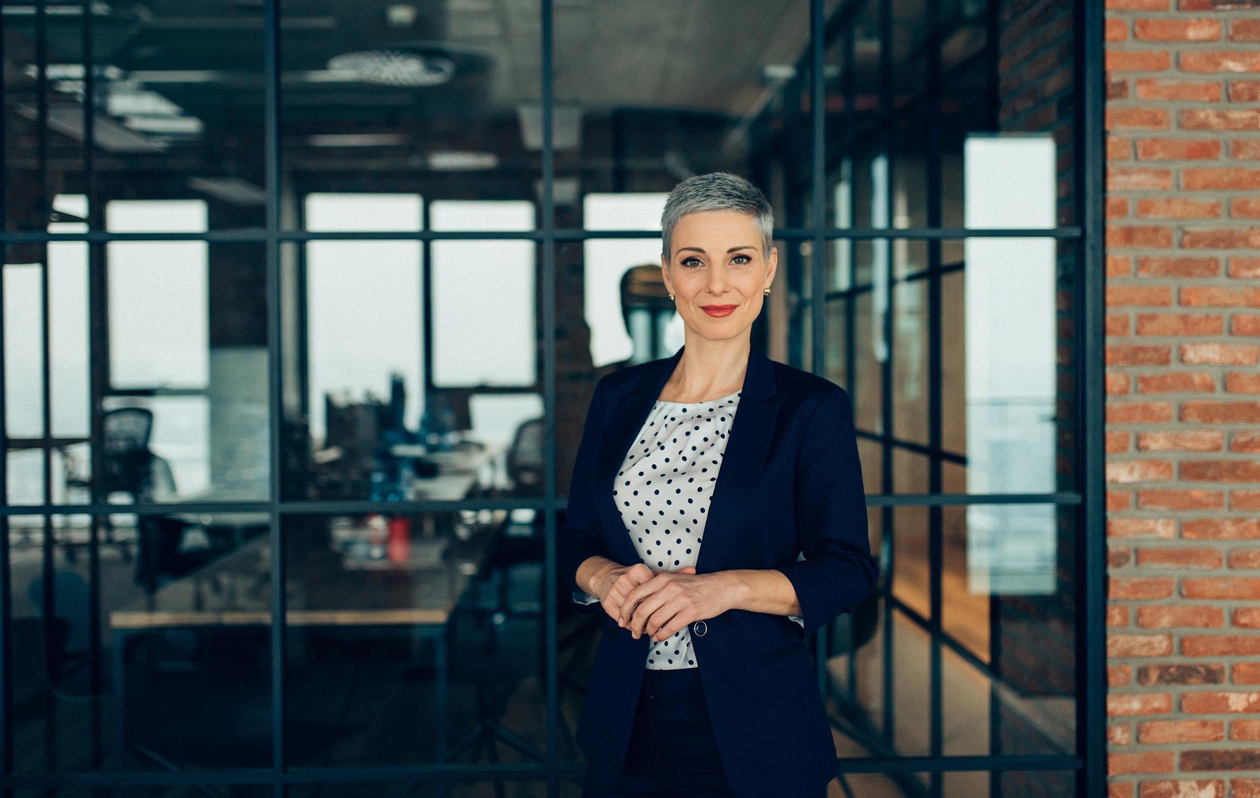 ufficio donna d'affari