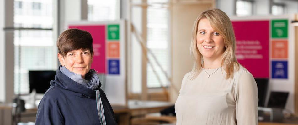 Portrait Christina Lipp und Karla Bavoljak