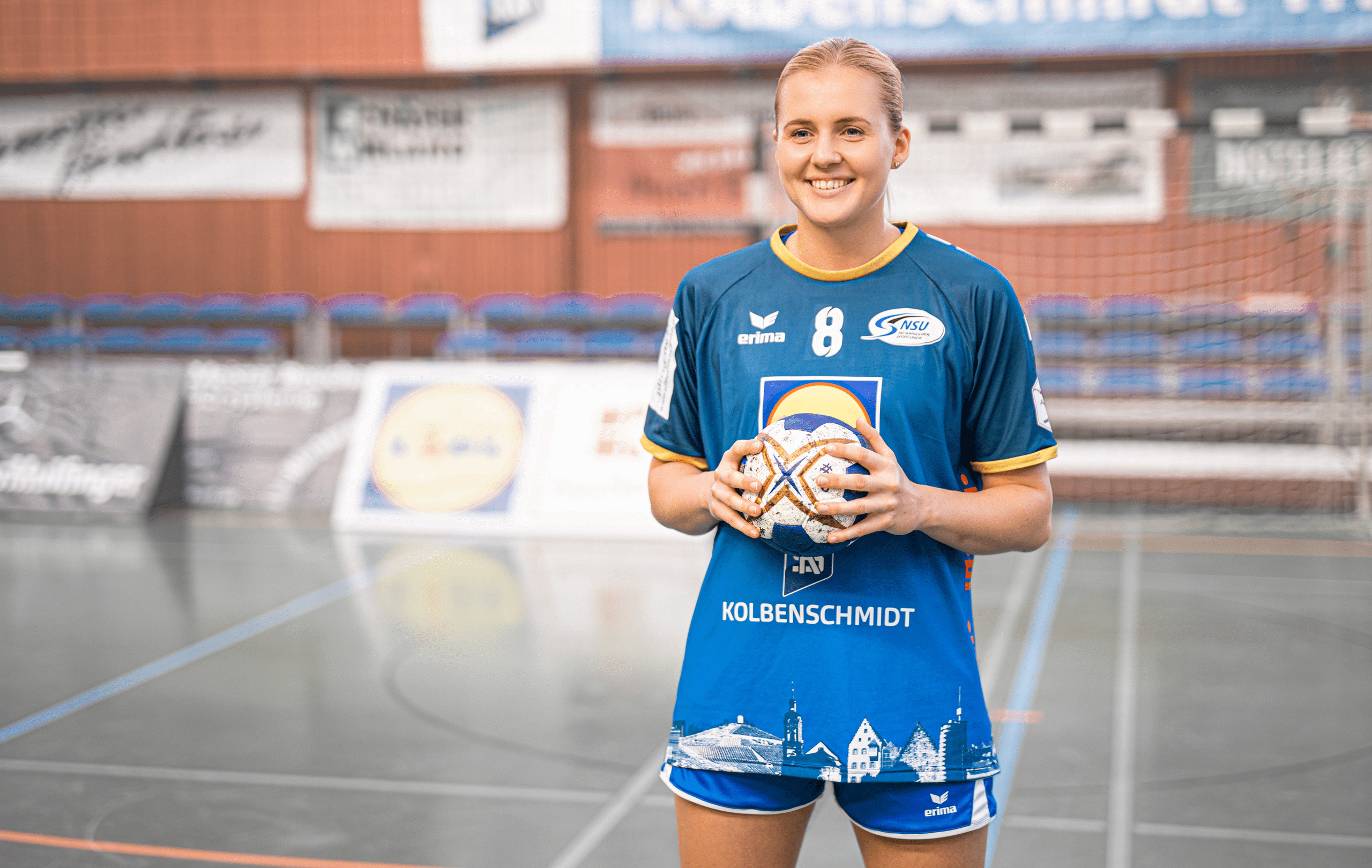 Photo Chantal Wick: Joueuse de handball profesionnelle suisse