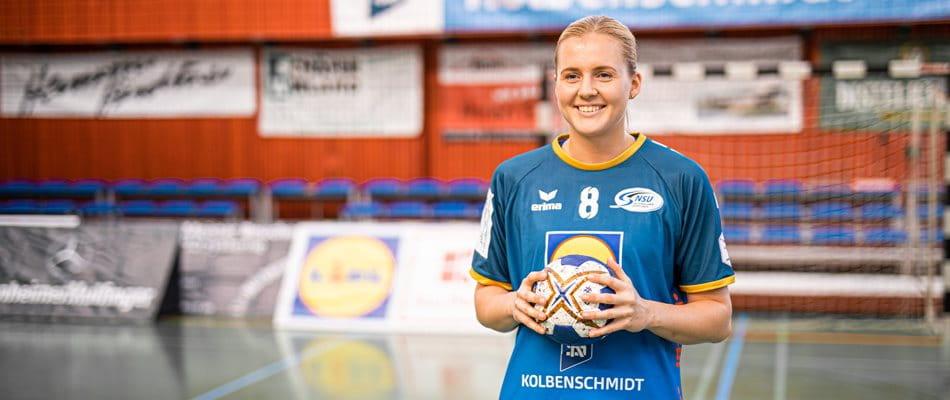 Photo Chantal Wick: Swiss professional handball player