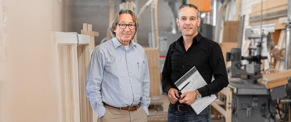 Photo Sepp Schmid and Raffael Schmid, Schmid Fenster Manufaktur