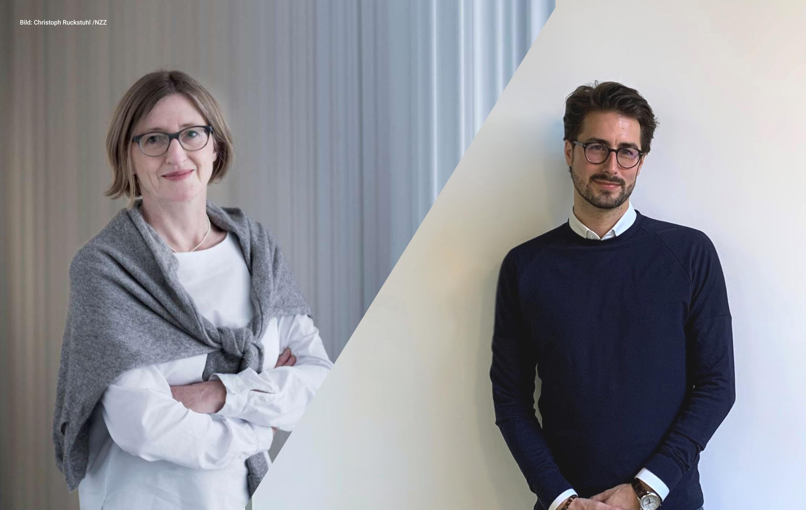 Photo Monika Bütler und Fabio Marchesin