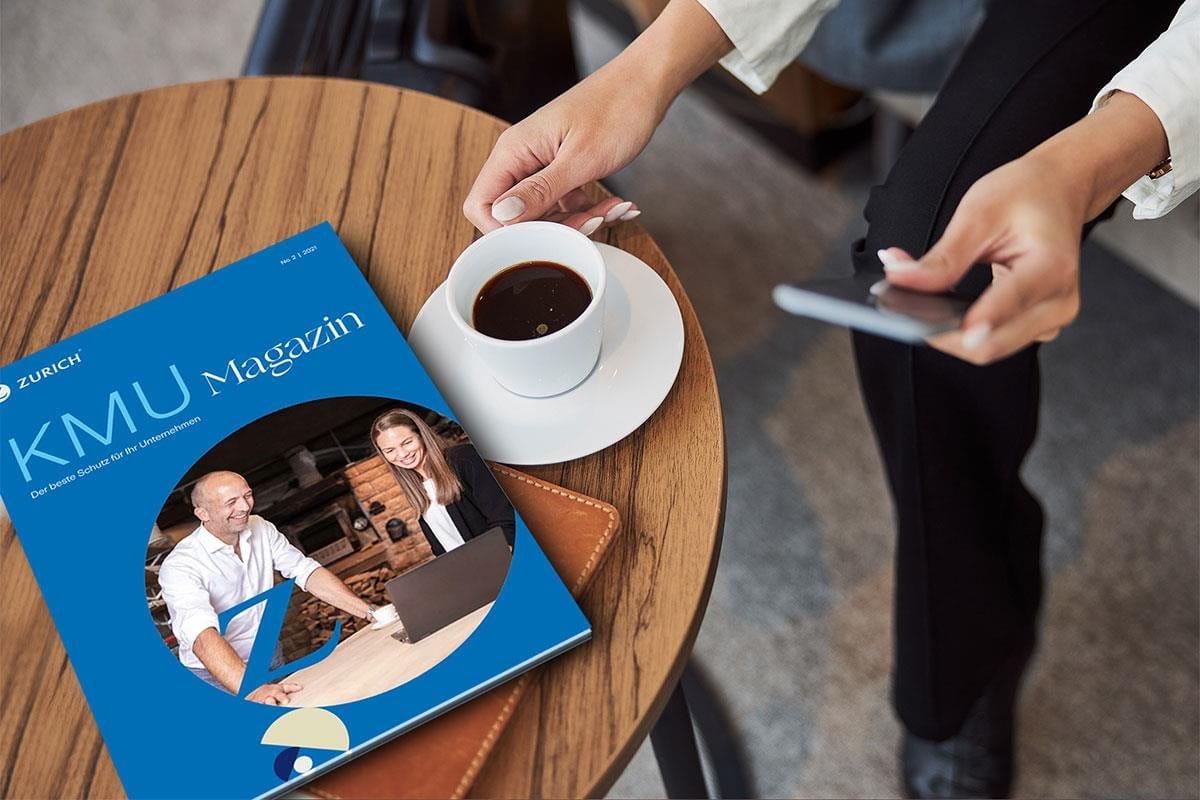 Zurich KMU Magazin Ausgabe 5 vom 20. September 2021