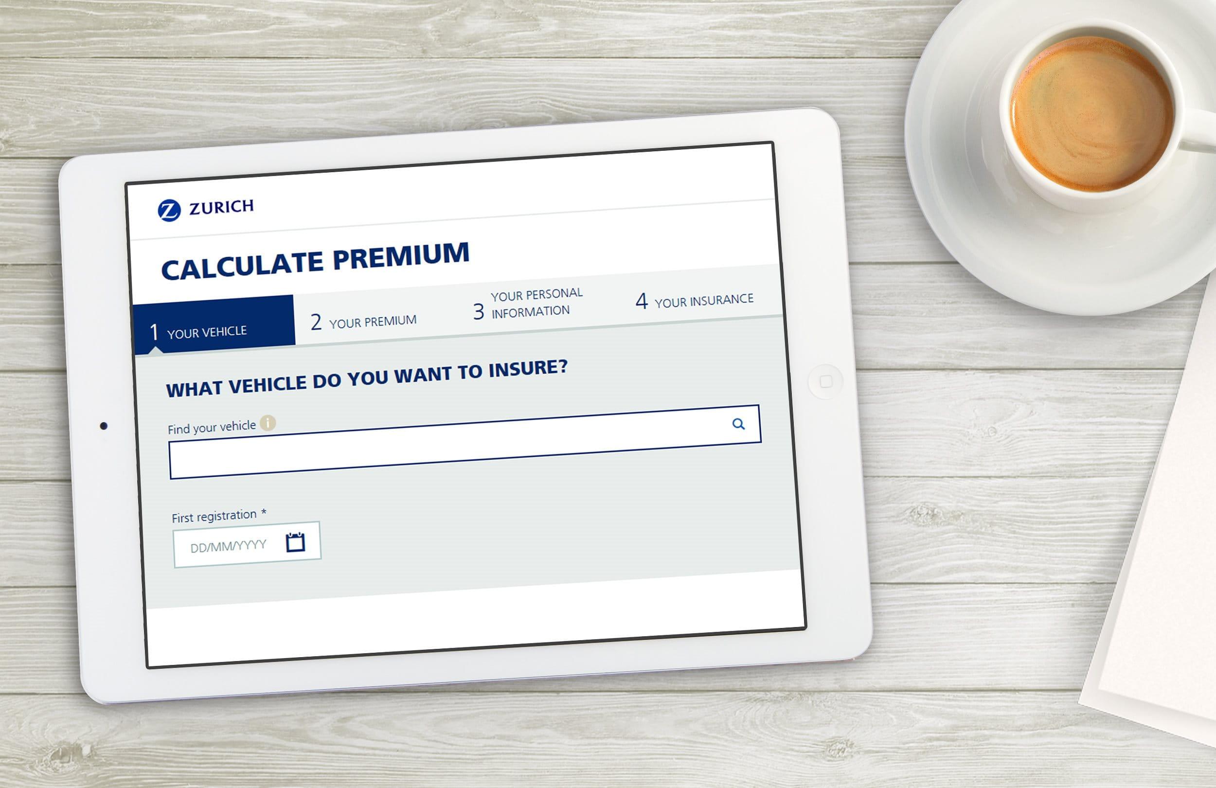 Calculate premium