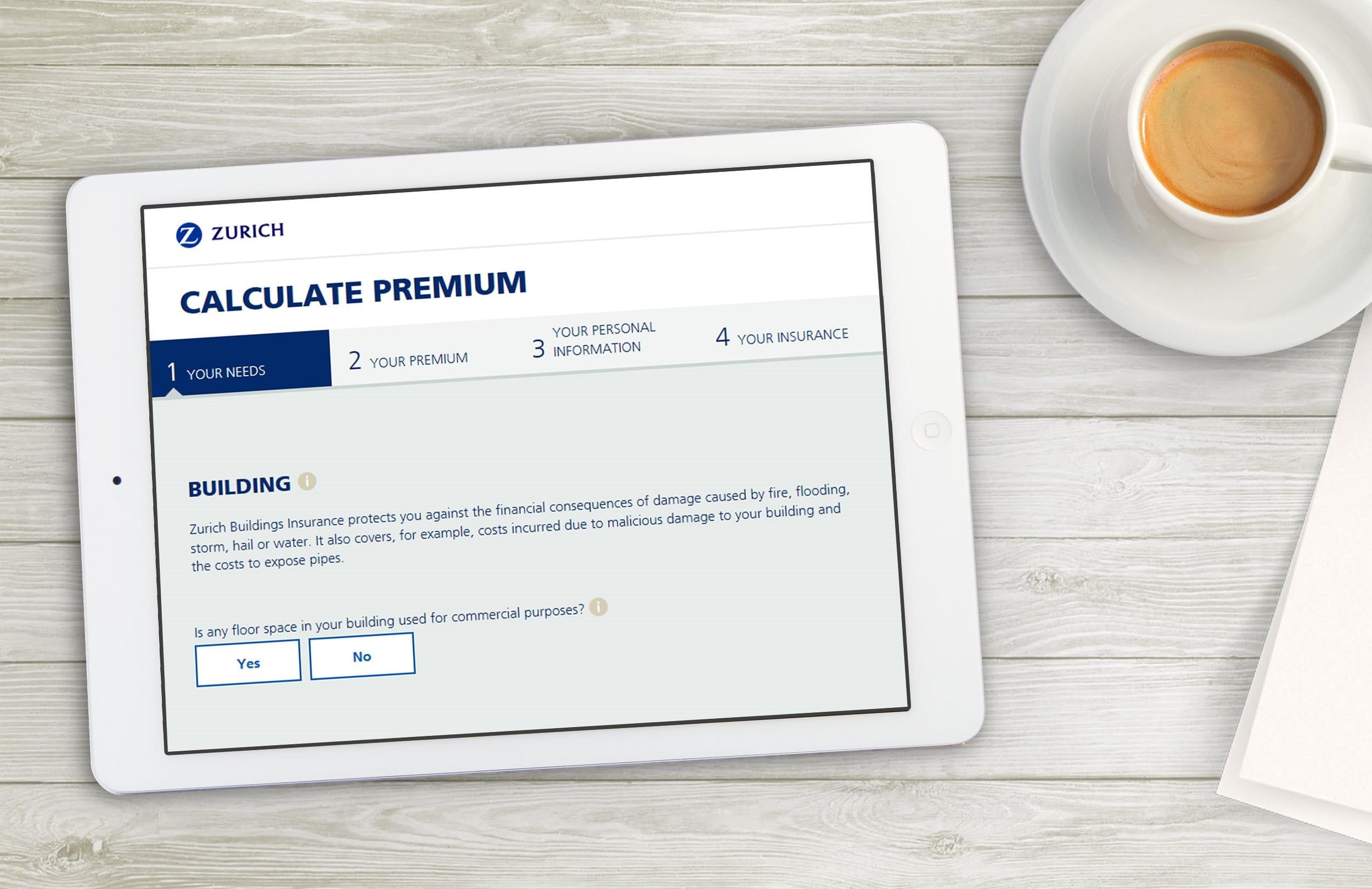 Calculate premium contents
