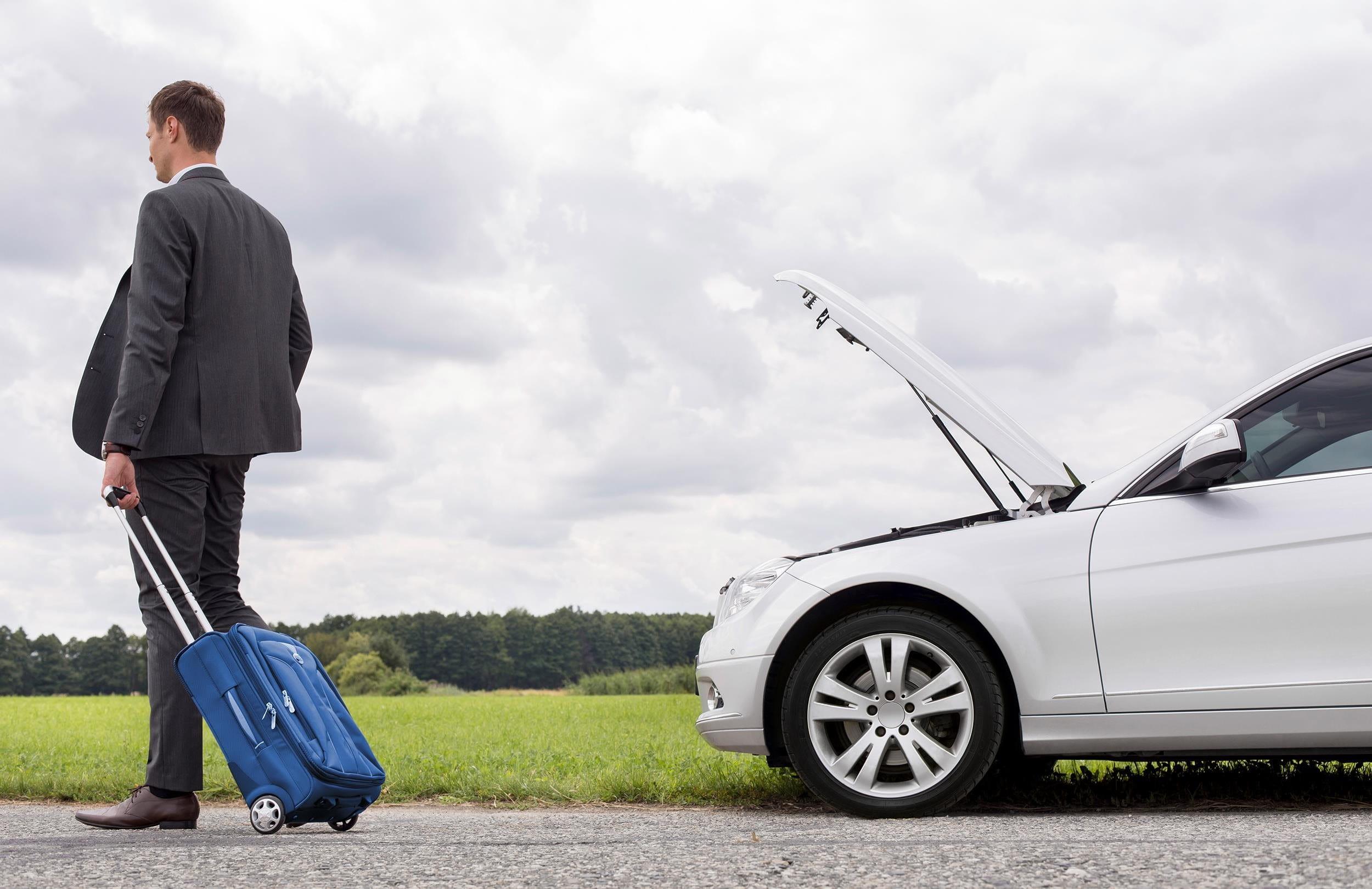 Déclarer une panne ou un événement en voyage