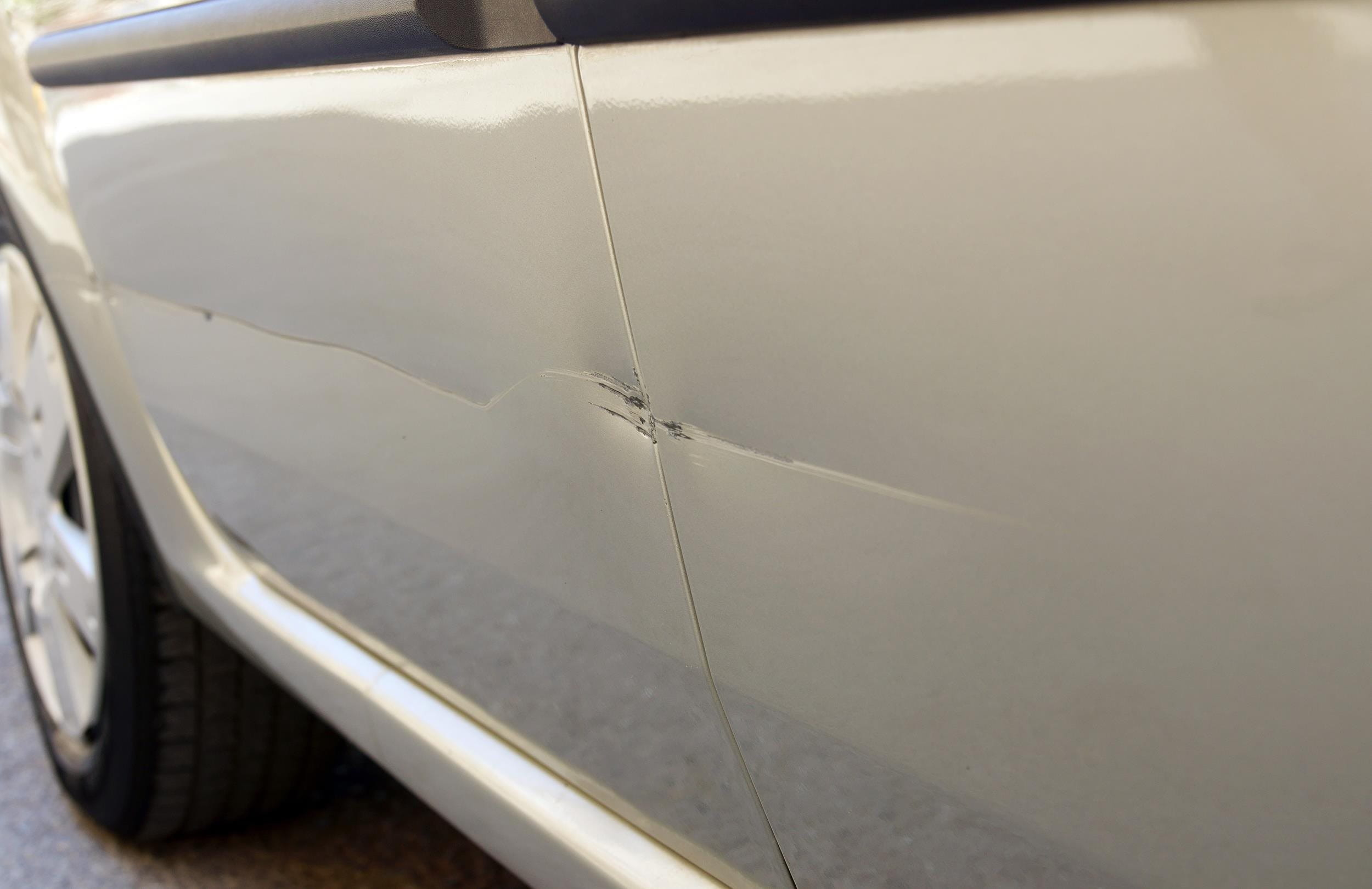 Parking damage of a third person