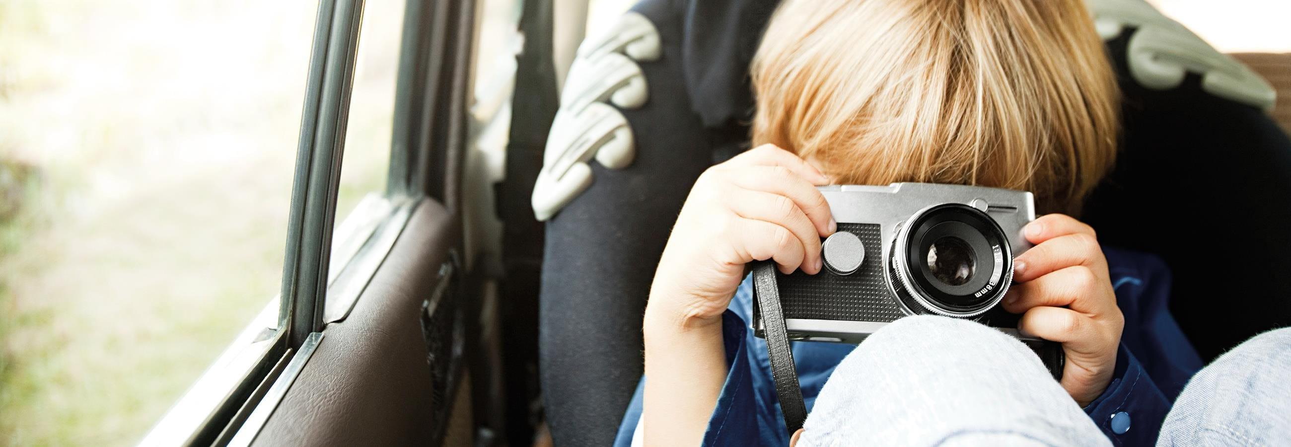 Entspannt mit Kindern Autofahren