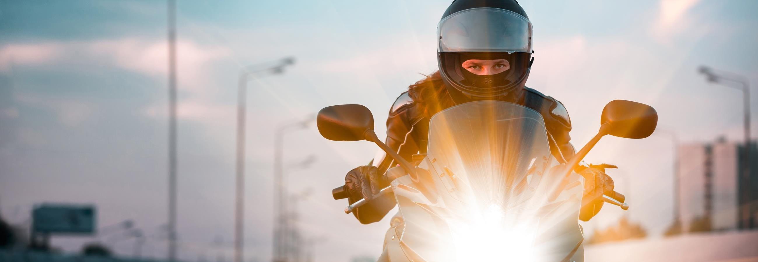 Sicher motorradfahren