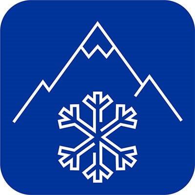 Schneeflocken Symbol