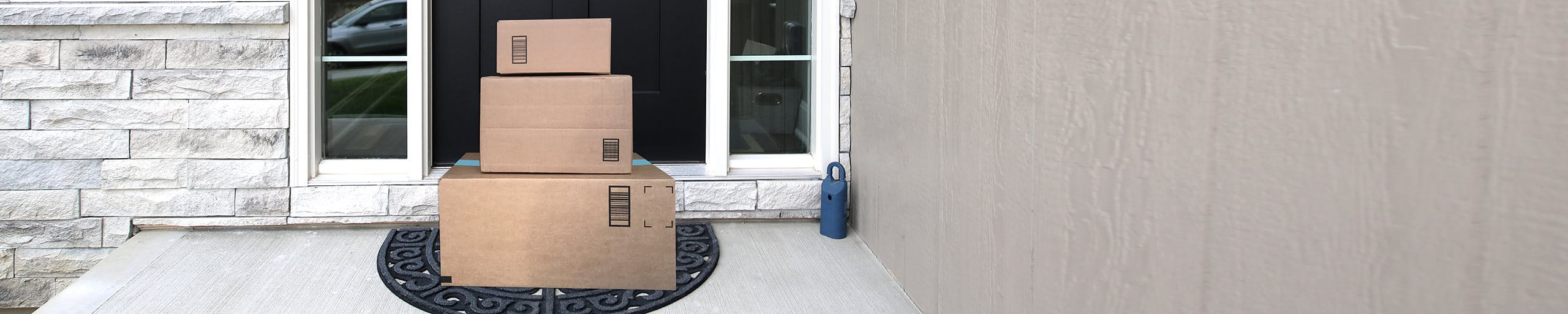 Package outside the front door