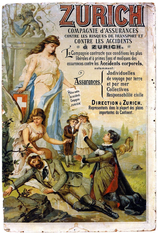 1875: L'«Unione delle assicurazioni» entra nel ramo dell'assicurazione contro gli infortuni