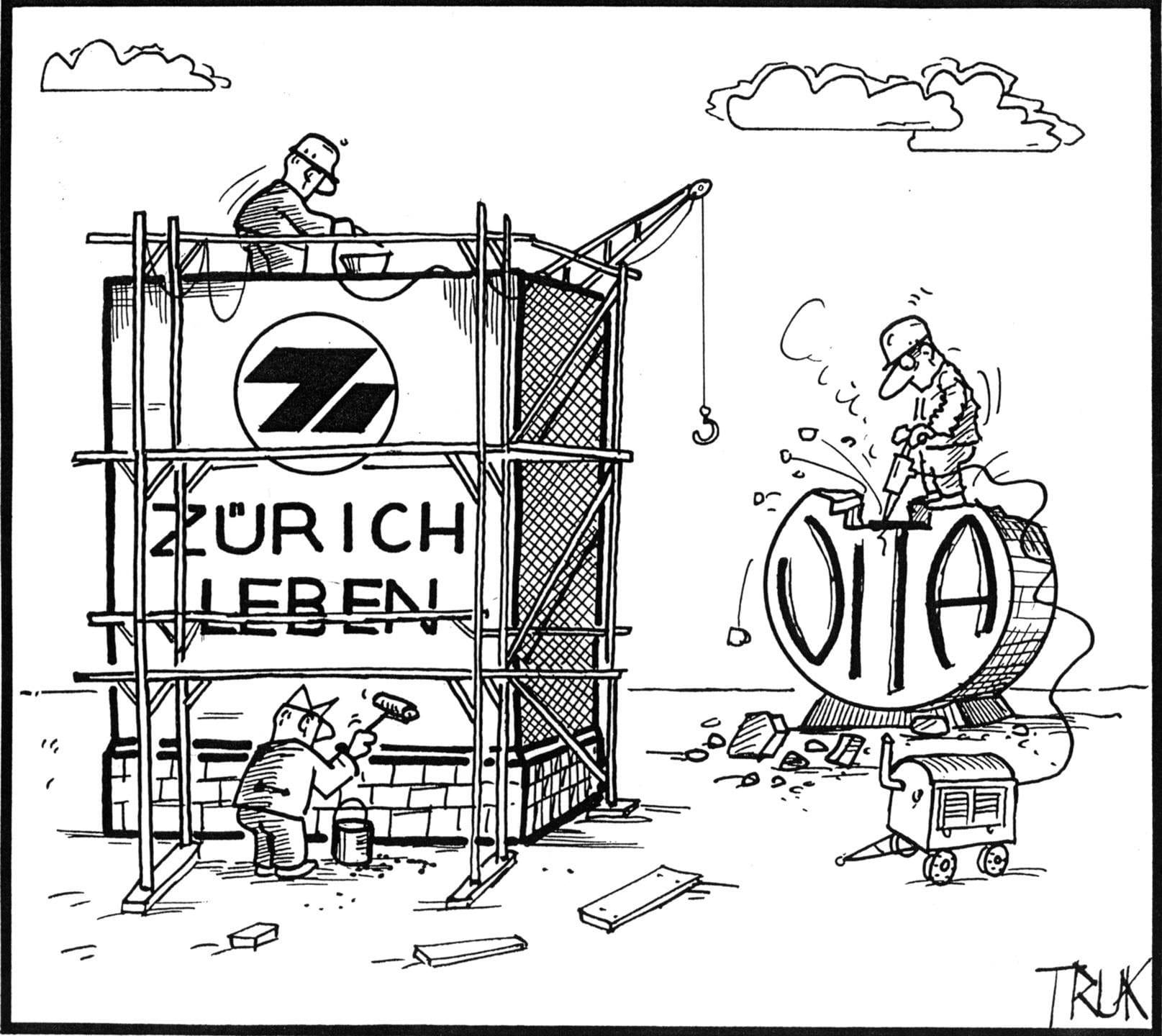 1993: Vita heisst neu Zurich Leben
