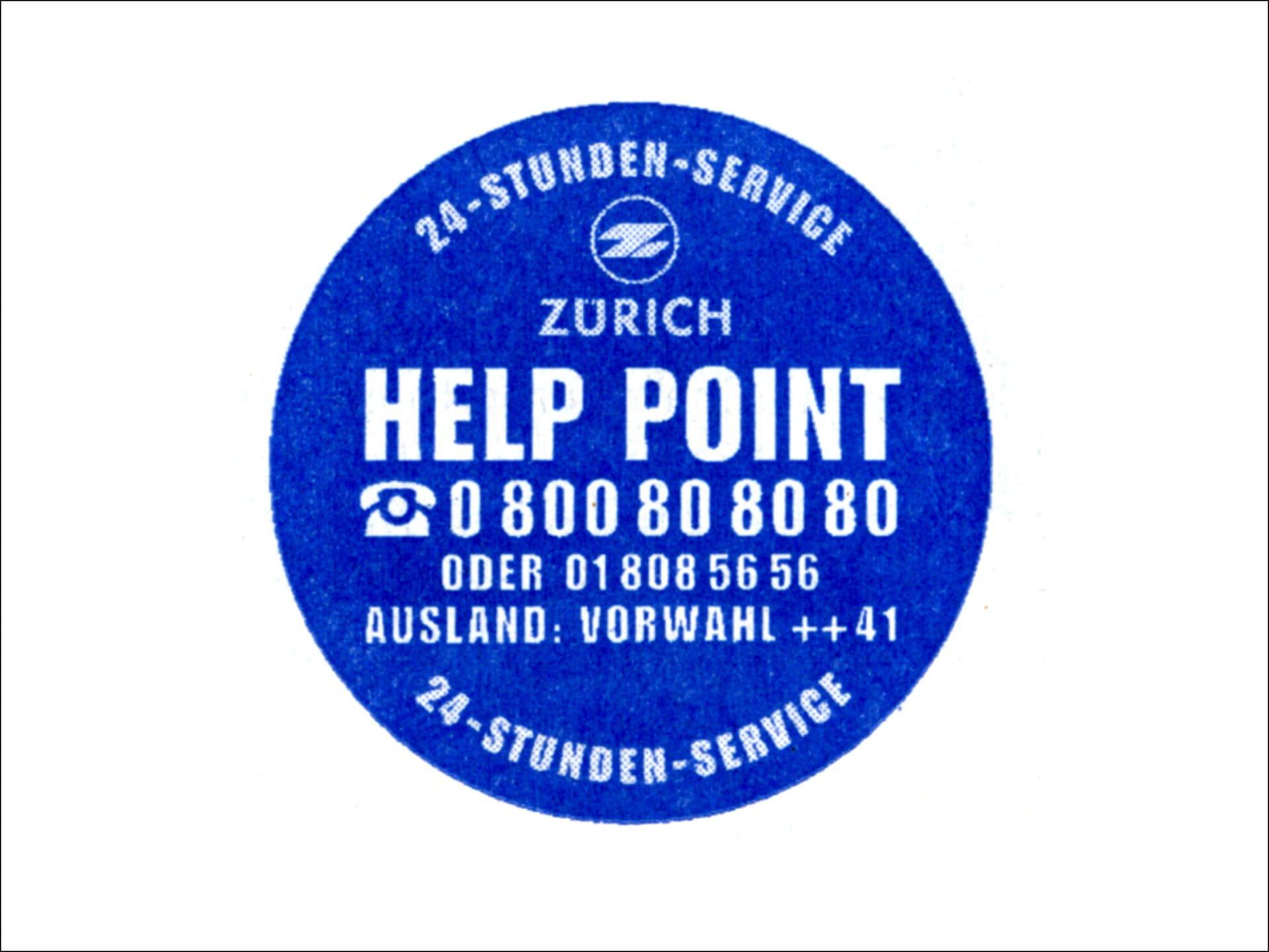 1997: Einführung Help Points