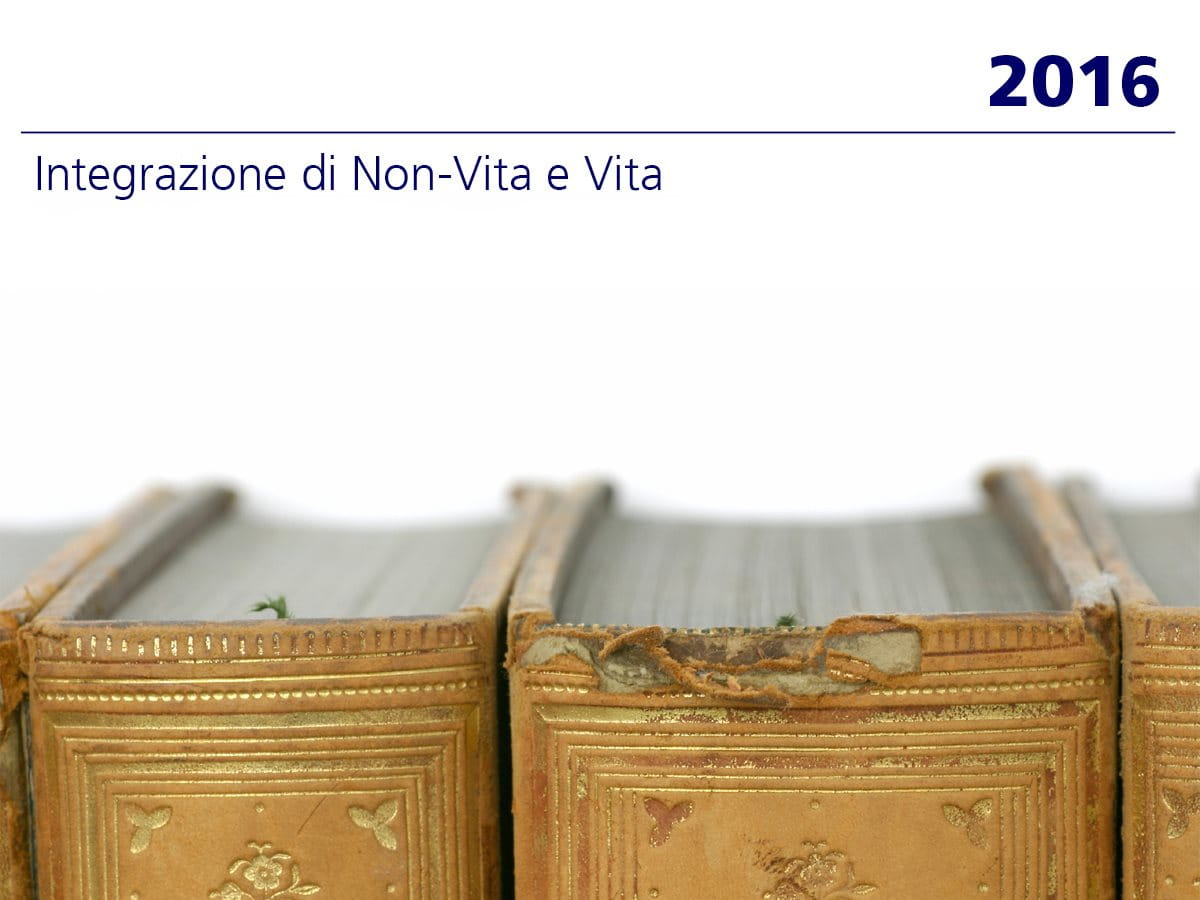 2016: integrazione di Non-Vita e Vita